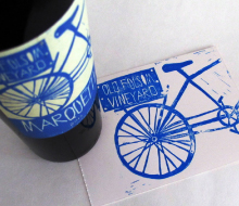 Old Folsom Vineyard Wine Labels