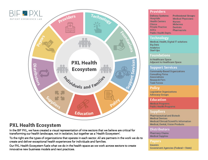 Patient Experience Lab Health Ecosystem